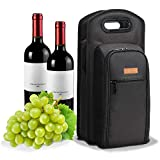 ALLCAMP 9 Piece Wine Travel Bag and Insulated Wine Carrier...
