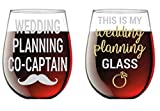 This is My Wedding Planning Glass / Planning Co-Captain -...