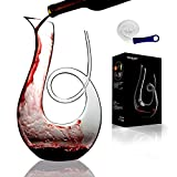 Wine Decanter and Wine Carafe Swan Shaped 1.5L Clear Hand...
