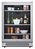 Avallon ABR241SGRH 140 Can 24' Built-In Beverage Cooler -...