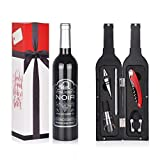 Wine Accessory Gift Set - Deluxe Wine Bottle Corkscrew...