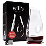 Decanter - Glass Vase Red Wine Aerator - Gift Accessories -...