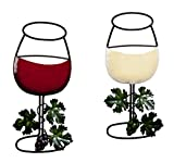 Miles Kimball Wine Wall Decor, One Size Fits All, Red