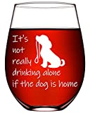 Dog Lover Gifts For Him Her Funny Wine Glasses Dog Gifts For...