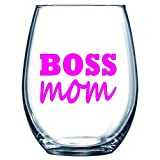 Southern Fried Decals 3' X 2' Boss Mom HOT Pink Funny Vinyl...