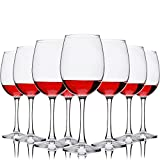 Set of 8 All Purpose Wine Glasses, 12 Ounce - Durable...
