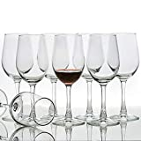 [Set of 8, 12 Ounce] All-Purpose Wine Glasses, Lead Free,...