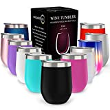 CHILLOUT LIFE 12 oz Stainless Steel Tumbler with Lid & Gift...