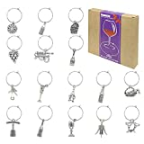 Wine Glass Charms Markers Tags Identification,Wine Charms...