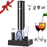 Electric Wine Opener Gift Set, Vewitcher 6-in-1 Automatic...