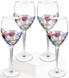 Crystal Clear Red Wine Glasses, Exceptional Elegant Hand...