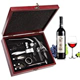 Smaier Wine Opener Set Corkscrew,Wine Accessories Areator...