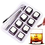 iProtech 8 Pack Stainless Steel Whiskey Stones, High Cooling...