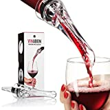 VINABON Wine Aerator for Wine Bottles - 2-in-1 Wine Aerator...