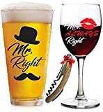 Funny Wedding Gifts | Mr. Right and Mrs. Always Right...