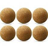 6 Pieces Wine Cork Ball Stopper Wine Cork Stopper Wooden...