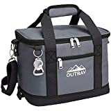 Outrav Black Insulated Cooler Bag – 6L Collapsible Thermal...