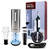 Exptolii Electric Wine Opener, Rechargeable Automatic Bottle...