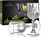 Laura Stein Plastic Crystal Style Wine Glasses with Stem (4...