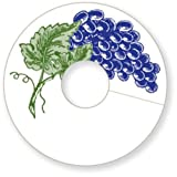 Epic 82-002 3' Markable My Glass Id Tags with Grape Design...