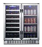 EdgeStar CWB2886FD 30-Inch Built-In Wine and Beverage Cooler...