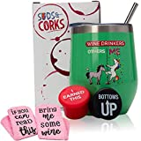 Wine Gifts for Women Accessories Set - Funny Mothers Day...