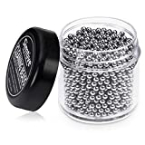 Simtive 1500 PCS Decanter Cleaning Beads, Stainless Steel...