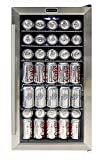 Whynter BR-130SB Beverage Refrigerator with Internal Fan,...