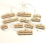 Wine Glass Charms - Harry Potter