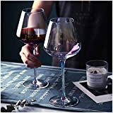 Amesser Crystal Wine Glass 22 - Ounce Set of 2, Lead·Free...