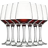 Wine Glasses Set of 8, 12oz, Lead-free, Clear, Durable...