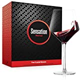 Season STORY Large Red Wine Glasses Set of 2 - 24oz Fancy...