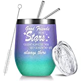 NOWWISH Friendship Gifts for Women Friends -Good Friends are...