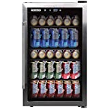 FRIGIDAIRE EFMIS155 Beverage Center-126 Cans-Full Stainless...