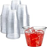 250 Clear Plastic Cups   9 oz Plastic Cups   Clear...