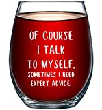 Of Course I Talk To Myself. Sometimes I Need Expert Advice...