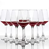 UMEIED Red Wine Glasses, Lead-Free Premium Clear Glass - Set...
