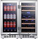 EdgeStar CWBV80261 30 Inch Wide 26 Bottle 80 Can...