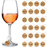 Wine Glass Charms Markers Drink Markers for Wine Glass...