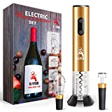 DiVino Electric Wine Opener Set - 4-in-1 Package with...