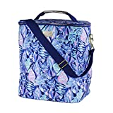 Lilly Pulitzer Insulated Wine Carrier Soft Cooler with...