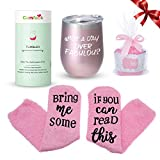 Comfook Funny Gifts Ideas Tumbler for Women, Double Wall...
