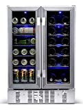 NewAir AWB-360DB Dual Zone Wine and Beverage Cooler,...
