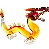 Dragon Decanter Whiskey and Wine Decanter Large 10x16' -...