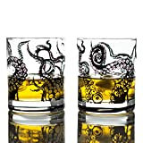 Greenline Goods Whiskey Glasses - 10 Oz Tumbler Gift Set –...