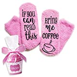 Sunsetbaby Gift CoffeeSocks'If You Can Read This Bring Me...