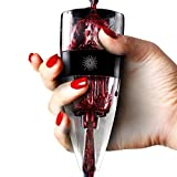 Vinluxe PRO Wine Aerator, Diffuser, Pourer, Decanter - Black...
