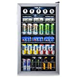 NewAir Beverage Refrigerator Cooler with 126 Can Capacity -...