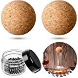2 Pieces 2.4 Inch Wine Bottle Cork Balls and 300 Pieces...