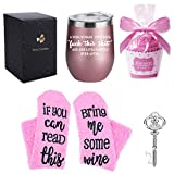 12 oz Stainless Steel Tumbler with Lid Wine Sock, Wine...